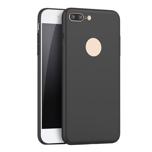 GUMAI Schutzhülle ultradünne seidig glatte Handyhülle Rückseite für iPhone 7 Plus 5.5inch - schwarz