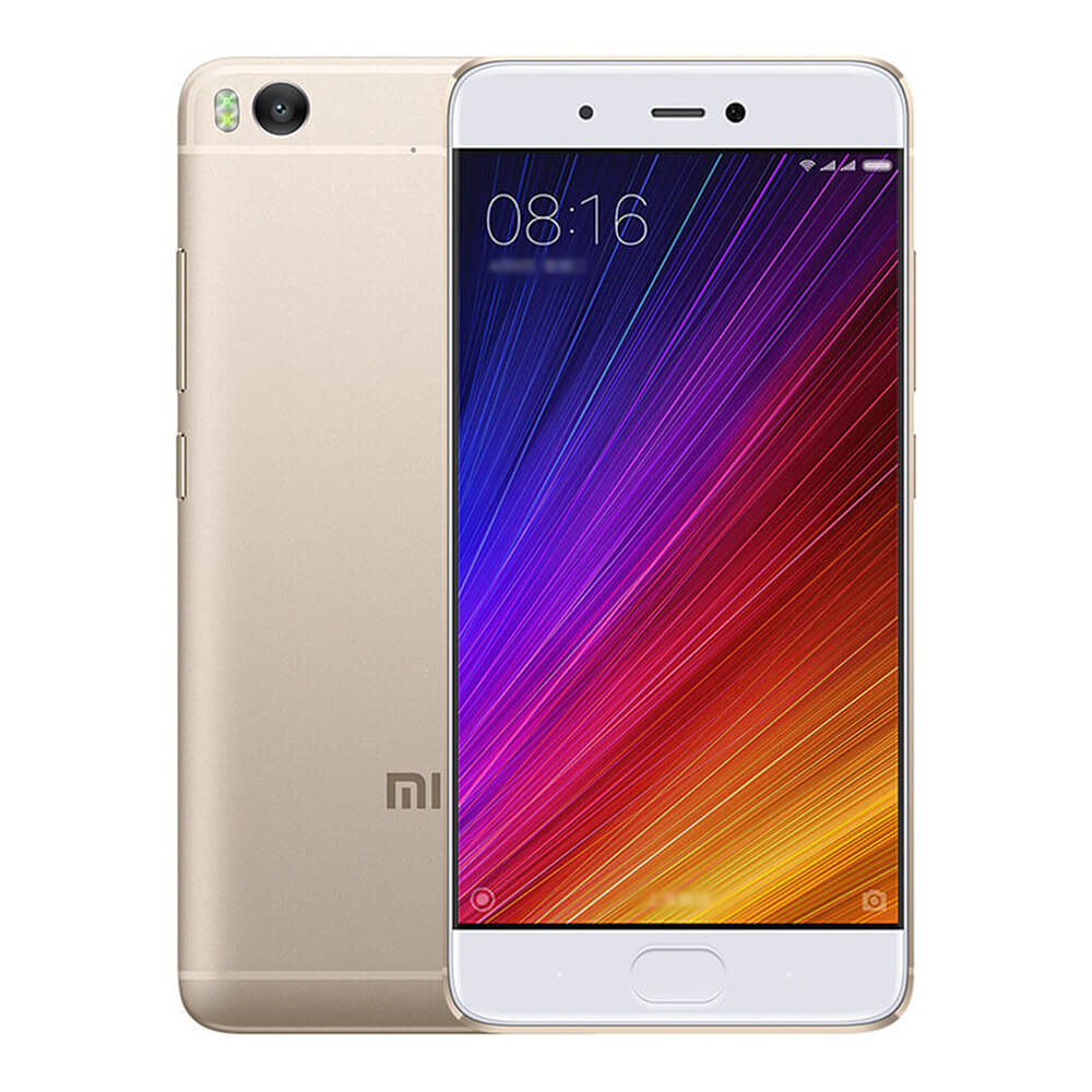 Xiaomi Mi 5S 5.15inch FHD MIUI 8 Android 6.0 4G LTE Smartphone Qualcomm Snapdragon 821 Quad Core 3GB 64GB 12.0MP Ultrasonic Touch-ID NFC Type-C - Gold