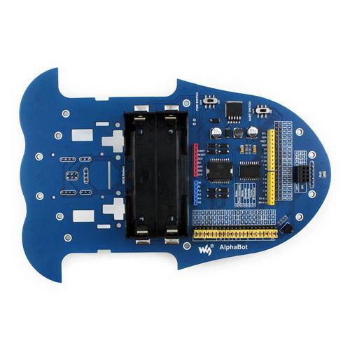 Raspberry Pi robot building kit: Raspberry Pi 3B + AlphaBot + Camera