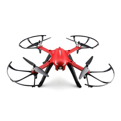 MJX Bugs 3 Brushless Független ESC 1800mAh akkumulátor 3D Roll Gopro 3 Gopro 4 kompatibilis RC Quadcopter RTF - piros