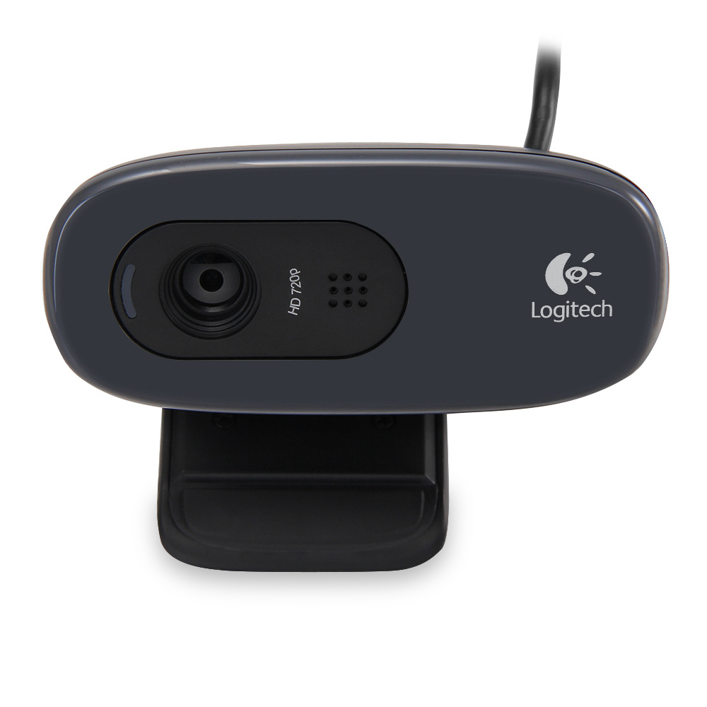 Logitech C270 HD Vid 720P Webcam Android TV Box için MIC ile Micphone Video Arama / PC / Dizüstü