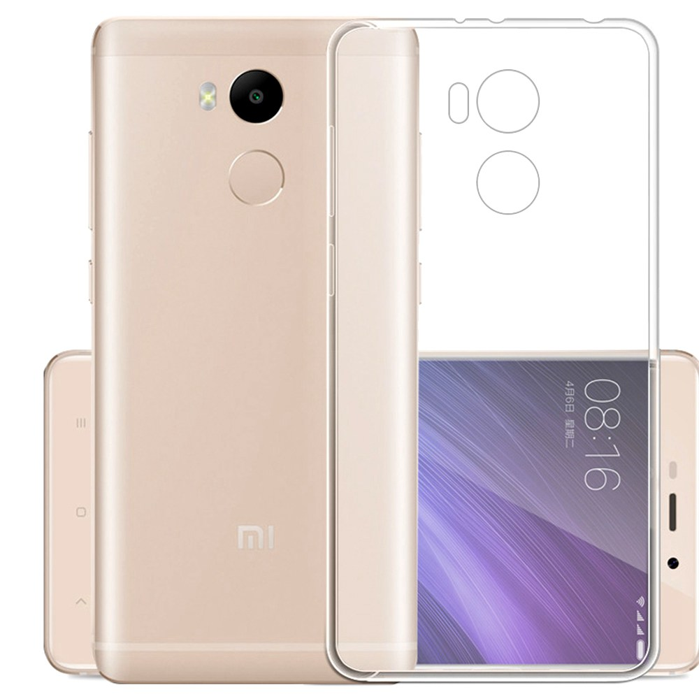 Silicon Back Cover High Quality Protective Soft Case Phone Shell For Xiaomi Redmi4 PRO- Transparent Other