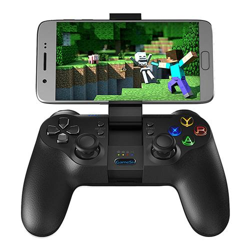 GameSir T1 Wired Gamepad Game Controller Bluetooth 4.0 for Android/Windows/TV Box/PS3- Black