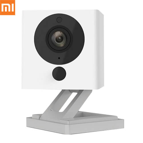 Original Xiaomi Xiaofang Smart 1080P WiFi IP Camera 1/2.7 inch CMOS Sensor 110 Degree FOV 8X Digital Zoom - White