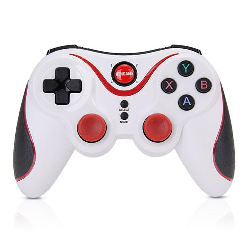 GEN GAME S5 Wireless Bluetooth Controller Gamepad Game Console for Android Windows - White