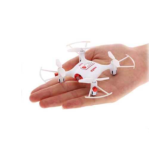 SYMA  X20 Pocket  2.4G 4CH 6Aixs Altitude Hold Mode RC Quadcopter RTF - White