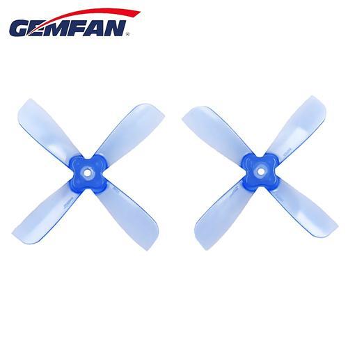 Gemfan 2035BN 3mm Négyzetes nyílás 2 X 3.5 4 pengéjű propeller CW CCW Mikro FPV Racing Drone - kék