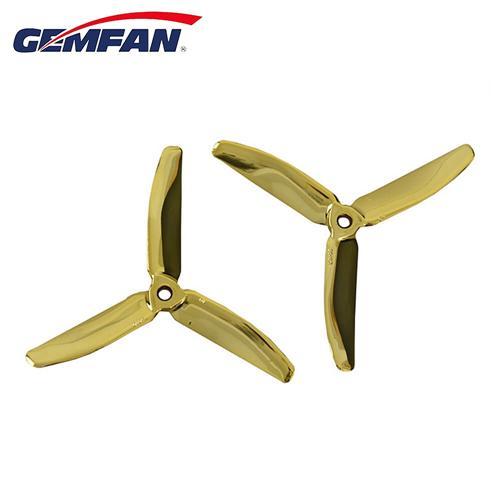 Gemfan Master 5040 5X4 3-pengéjű propeller CW CCW Racing Drone - arany