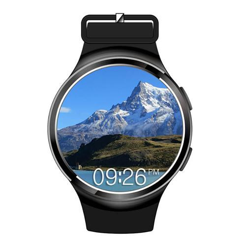 Makibes X3 Plus 3G Smartwatch Phone Android 5.1  MTK6580 Quad Core 1GB RAM 8GB ROM Heart Rate Compatible with iOS Android - Black