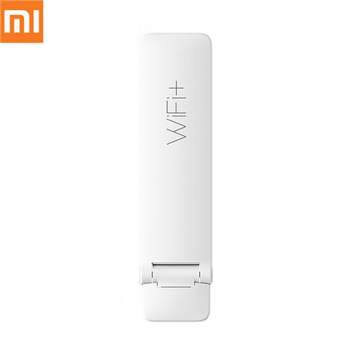 Xiaomi Mi WiFi Amplifier 2 300Mbps Dispositivo di rete wireless Mijia Smart App Antenna integrata Versione internazionale - Bianco