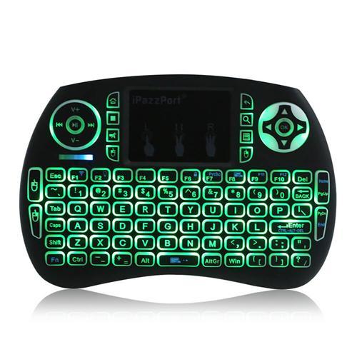 iPazzPort KP-810-21SDL Mini 2.4G Wireless Backlit Keyboard