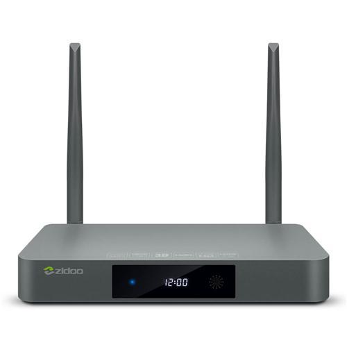 ZIDOO X9S Realtek RTD1295 Android 6.0 OpenWRT (NAS) Blu-ray Navigasyon TV BOX 2GB / 16GB AC WIFI 1000M LAN HDR USB3.0 HDMI SATA Bluetooth Media Player'da