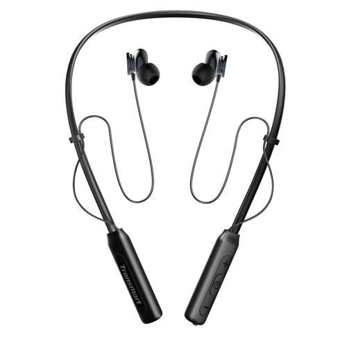Tronsmart Encore S2 mágneses Bluetooth 4.1 nyakpántos sport fejhallgató - fekete