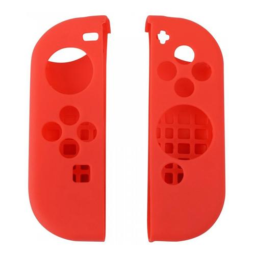 Anti-Slip Silicone Case for Nintendo Switch Controller - Red