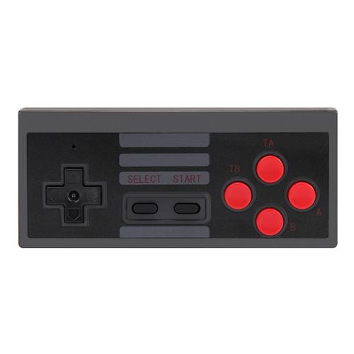 Wireless 2.4G Controller for Nintendo NES Classic Mini Edition Gaming System - Black