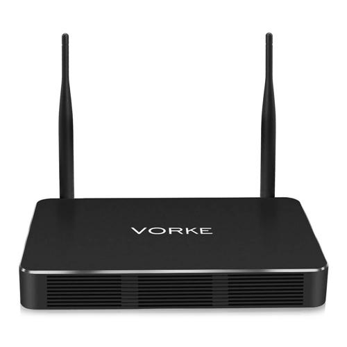VORKE Z3 4K 60Hz KODI Android TV Box RK3399 4GB/32GB 2x2 mimo AC WIFI Gigabit LAN SATA3.0 HDMI Type-C Dual Output Bluetooth 4.1