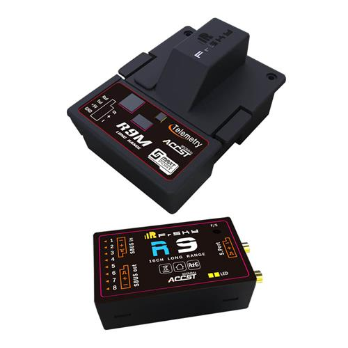 FrSky R9 900MHz 16CH Long Range Receiver with R9M Module System
