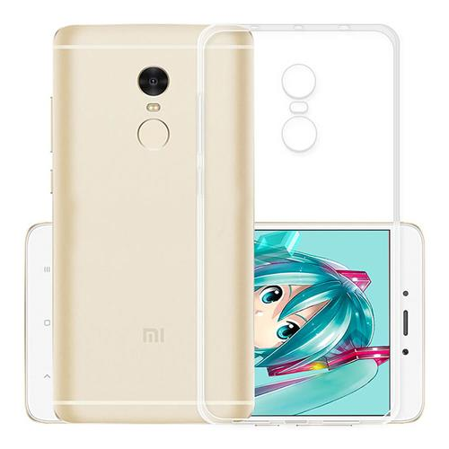 Air Shell Silicon Back Cover High Quality Protective Soft Case Phone Shell For Redmi Note 4X - Transparent фото