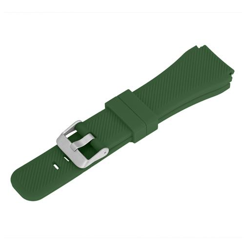 Universal 22mm Replacement Silicon Watch Bracelet Strap Band For Xiaomi Huami Amazfit Makibes EX18 GV68 G01 G02 - Green