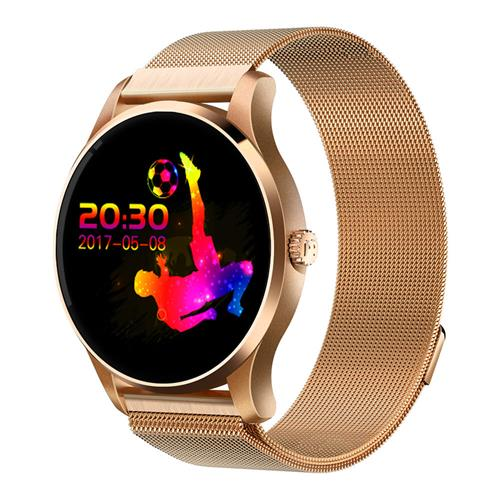 K88 Smart Watch Bluetooth Heart Rate Monitor MTK2502 Siri Function Gesture Control Compatible with iOS Andriod - Gold