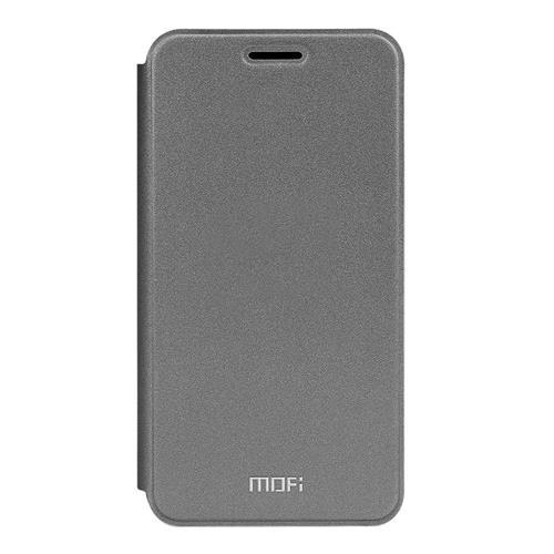 Gray Meilan M3 Note Leather Case MOFI Rui Series Flip Stand Cover Screen Protecor фото