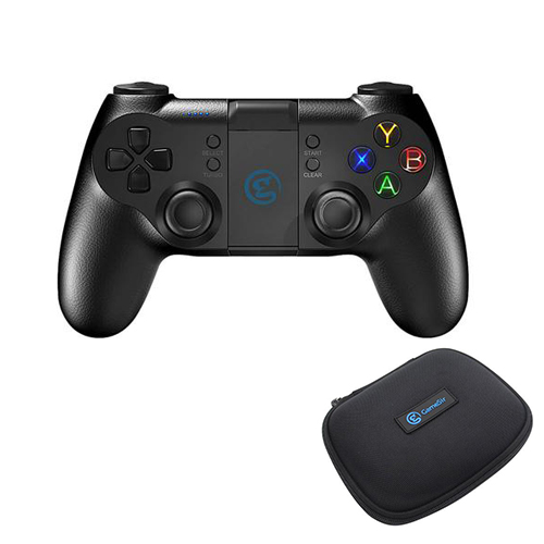 GameSir T1s Enhanced Edition 2.4GHz Wireless Bluetooth Gamepad  + Carrying Case Bag - Black