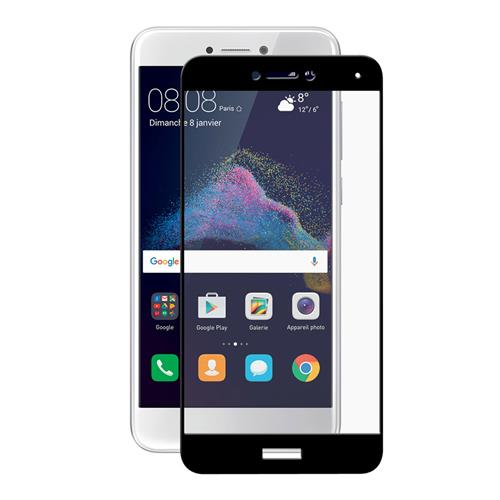 Black HUAWEI P8 Lite 2017 Glass Film ENaky Hat-Prince 0.26 mm 2.5D Explosion-proof Membrane Screen Film