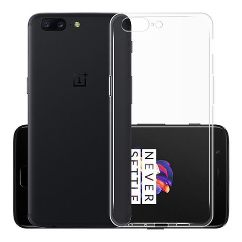 Transparent OnePlus 5 Soft Case Silicon Back Cover High Quality Protective Phone Shell фото