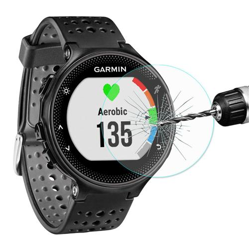 Hat-Prince 0.2mm 2.15D Arc Glass Protective Screen for Garmin Forerunner 235 - Transparent