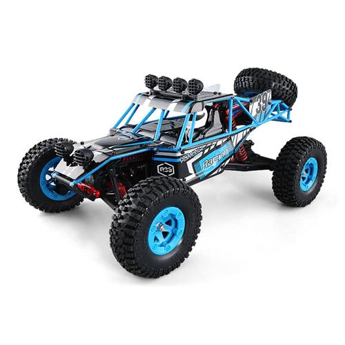 JJRC Q39 Highlander 1:12 2.4G 4WD Short-course Truck RTR - Blue