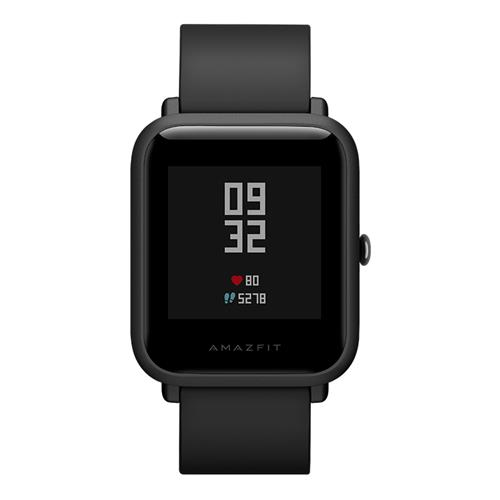 Xiaomi Huami Amazfit Bip IP68 Sports Smartwatch Bluetooth 4.0 GPS Glonass 45 Days Standby English Version - Black