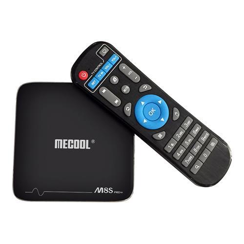 MECOOL M8S PRO Plus YouTube 4K Netflix HD Streaming Android 7.1.1 Ambrox S905X 2GB / 16GB WIFI 4Kx2K @ 60fps VP9 HDR10