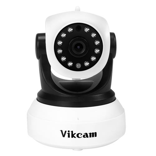 Vikcam C7824WIP WiFi 720P IP Camera Built-in IR-cut ONVIF2.0 Motion Detection Night Vision P2P PT CMOS Sensor Security Camera -White