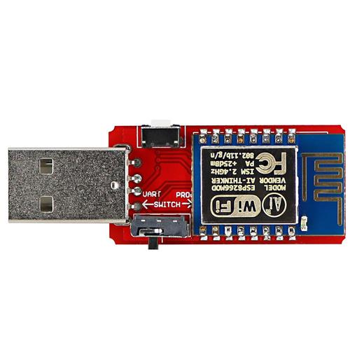 OPEN-SMART USB to ESP8266 ESP-12 Wi-Fi Module with Built-in PCB Antenna