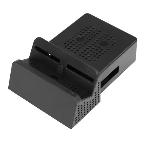 JYS NS119 Portable Replacement Dock Case for Nintendo Switch - Black