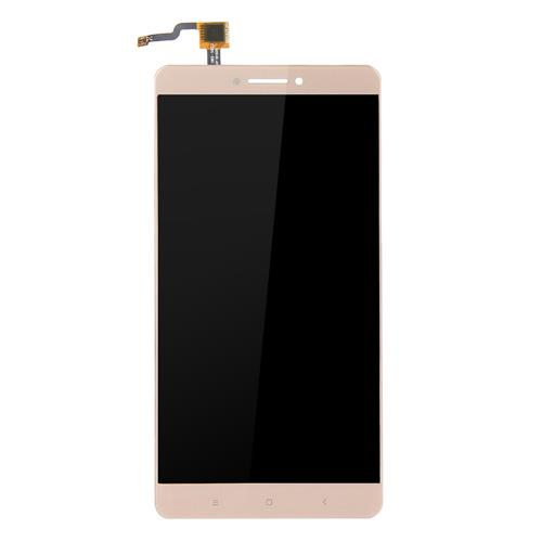 [Wholesale]50pcs LCD & Digitizer Assembly Replacement For Xiaomi Mi Max (Grade P) - Gold