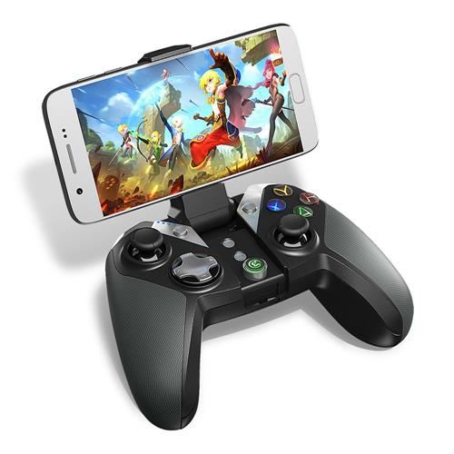 GameSir G4s Bluetooth 4.0 / 2.4G Wireless / Wired Gamepad Game Controller for iOS Android Windows PS3 - Black
