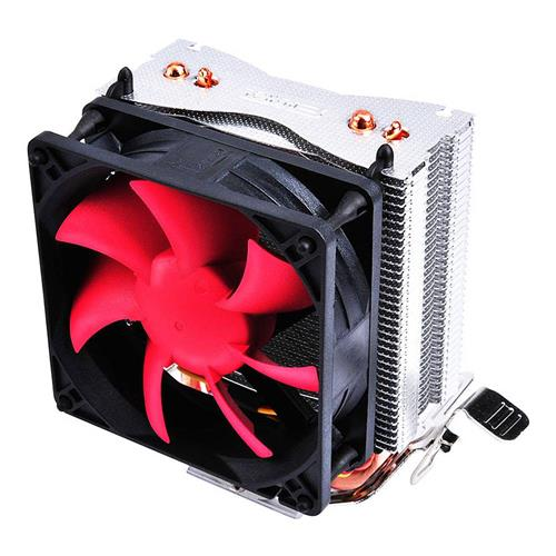 PCCOOLER HP-825 Mute CPU Cooling Fan Temperature Controller Desktop Compatible with LGA / AMD - Red