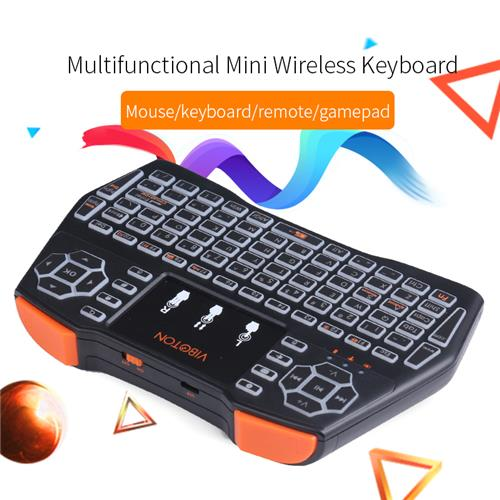 VIBOTON i8 Plus Backlight 2.4G Wireless Keyboard Air Mouse Multi-touch Pad XBOX 360 PS4 TV Box Android TV Pad PC