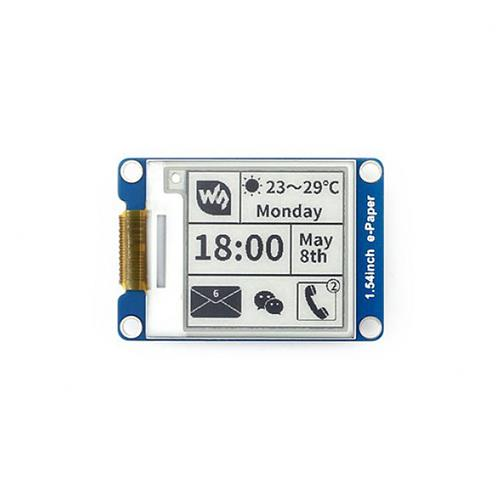 1.54 Inch E-Ink Display Module 200x200 Resolution SPI Interface