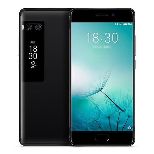 Meizu Pro 7 5.2 Inch Smartphone Super AMOLED Screen 4GB 64GB Helio P25 Dual 12.0MP Rear Camera Android 7.0 Hi-Fi Fast Charge mCharge 3.0 Global Version - Black