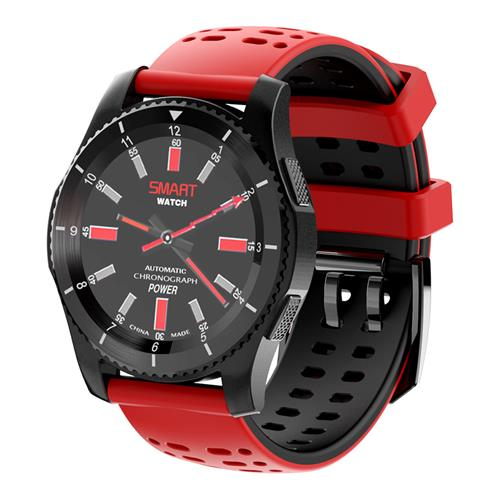 No.1 GS8 Smartwatch Black Red