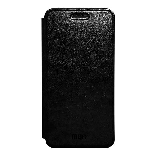 Black Xiaomi Redmi 4A Leather Case MOFI Flip Stand Protective Cover Screen Protector Other