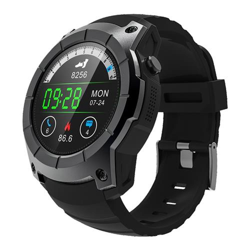 Makibes G05 Smartwatch GPS Bluetooth MTK2503 32GB TF Card SMS Reminder Multi-mode Sports Compatible with iOS Android - Black