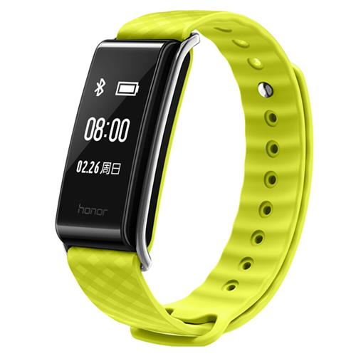Huawei Honor A2 Smart Wrist Band Heart Rate Monitor Fitness Tracker IP67 Water Resistant Bluetooth - Yellow