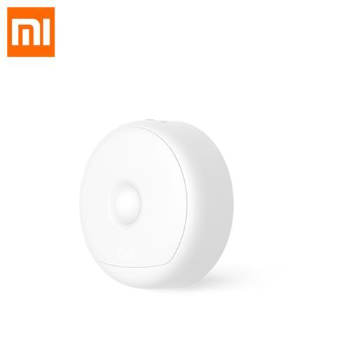 Xiaomi Yeelight เซ็นเซอร์ตรวจจับความเคลื่อนไหวเซ็นเซอร์ตรวจจับแสงไนท์เซ็นเซอร์ IR แม่เหล็กไฟฉายแบบชาร์จไฟได้ - สีขาว
