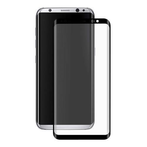 Black Samsung Galaxy S8 Plus Tempered Glass ENKAY Hat-Prince 0.26mm 3D Screen Film Screen Protector Glass Film