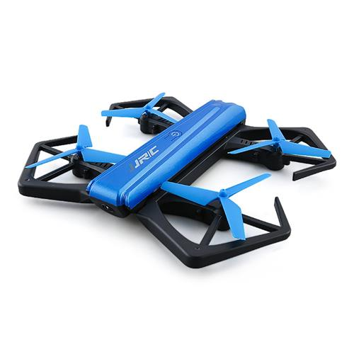 JJRC H43WH Blue Crab Foldable Arm WIFI FPV RC Quadcopter with 720P HD Camera Altitude Hold Mode BNF - Blue