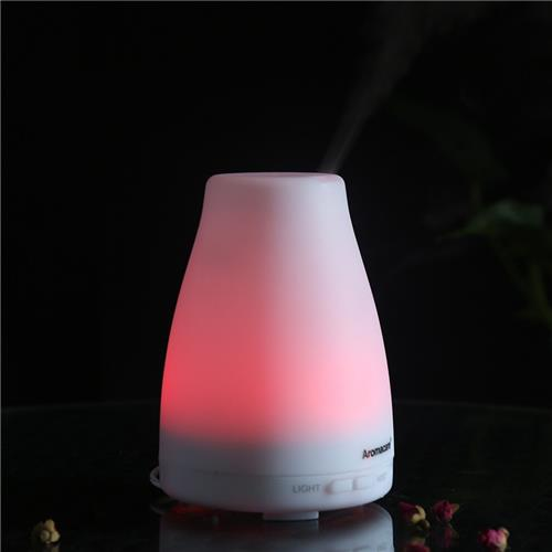 TT-103 Aroma-Maschine Luftbefeuchter Timing Luftbefeuchter LED-Nachtlicht Diffusor Essence Oil Low Noise -White