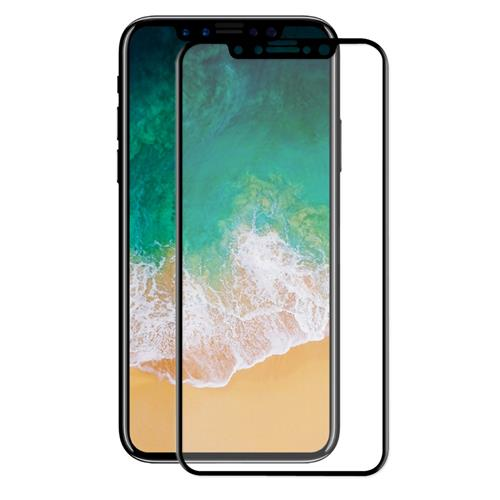 ENKAY Hat-Prince Tempered Glass 0.26mm 3D Explosion-proof Membrane Glass Film For iPhone 8 - Black